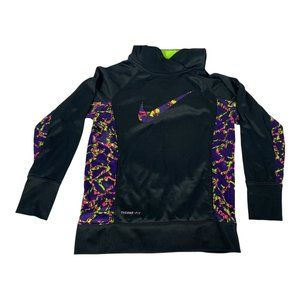Nike Therma-Fit Girls Front Pocket Hoodie Size L